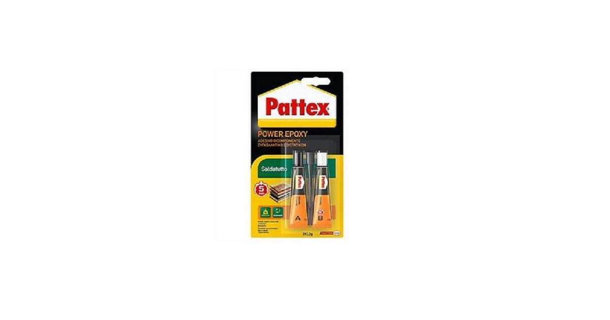 Pattex Power Epoxy Acciaio Liquido, Colla Epossidica ...