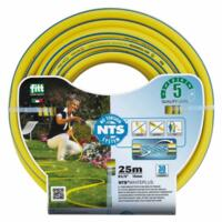 "Tubo Retinato Giallo NTS Fitt White Plus 1"" mm 25 Rotolo da mt 50"