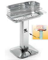 Barbecue a Carbone in Acciaio Inox Venus/X Pro System Cod. 60430 Ompagrill