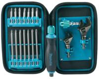 Set di Inserti per Cacciavite 18 inserti in Astuccio Makita Pocket Maintenance Pouch P-90021