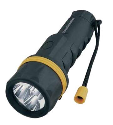 Torcia a Led in Gomma Antiurto CFG Cod.EL022 Rubber Led 2D